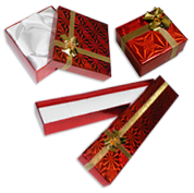 Hologram Red Gift Boxes