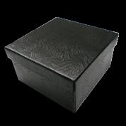 Black Swirl Jewelry Gift Boxes