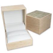 Burlap Jewelry Gift Boxes