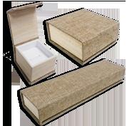 Burlap Boxes