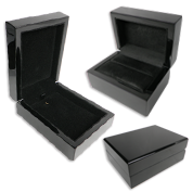 Black Piano Wood Gift Boxes