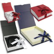 Magnetic Ribbon Boxes