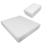 White Krome Jewelry Gift Boxes